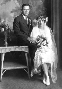 My grandparents of French descent - Charles and Mary Wilscam